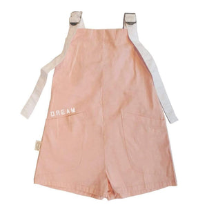 Tinono Kids overall Piper pink short overall