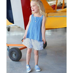 Tinono Kids top Piper denim tank top