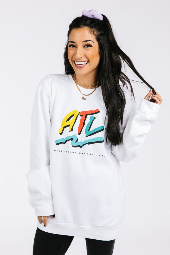 ATL THROWBACK SWEATSHIRT