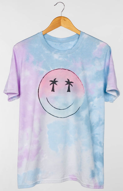 PALM TREE SMILEY TEE