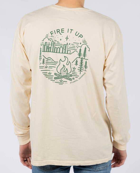 FIRE IT UP LS TEE