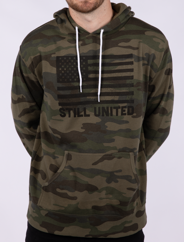 STILL UNITED CAMO SWEATSHIRT