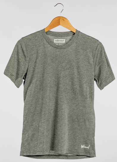 ULTRA SOFT GREY TEE @outlet