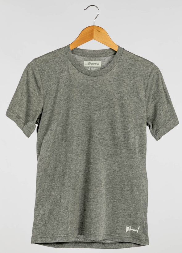 ULTRA SOFT GREY TEE