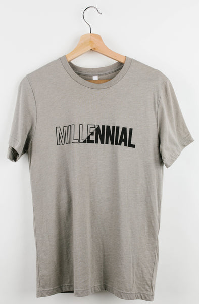 STONE DIVIDED TEE @outlet