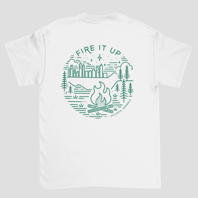 FIRE IT UP TEE @outlet
