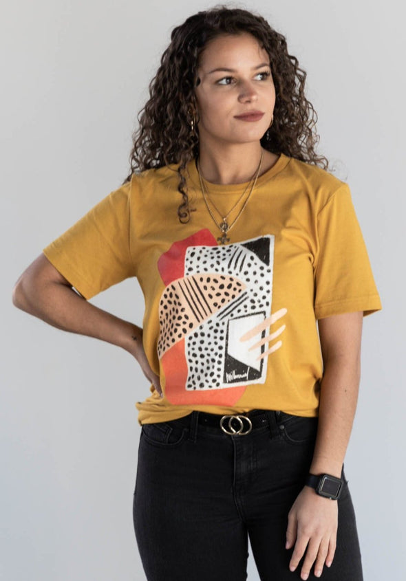 MILLENNIAL ABSTRACT TEE
