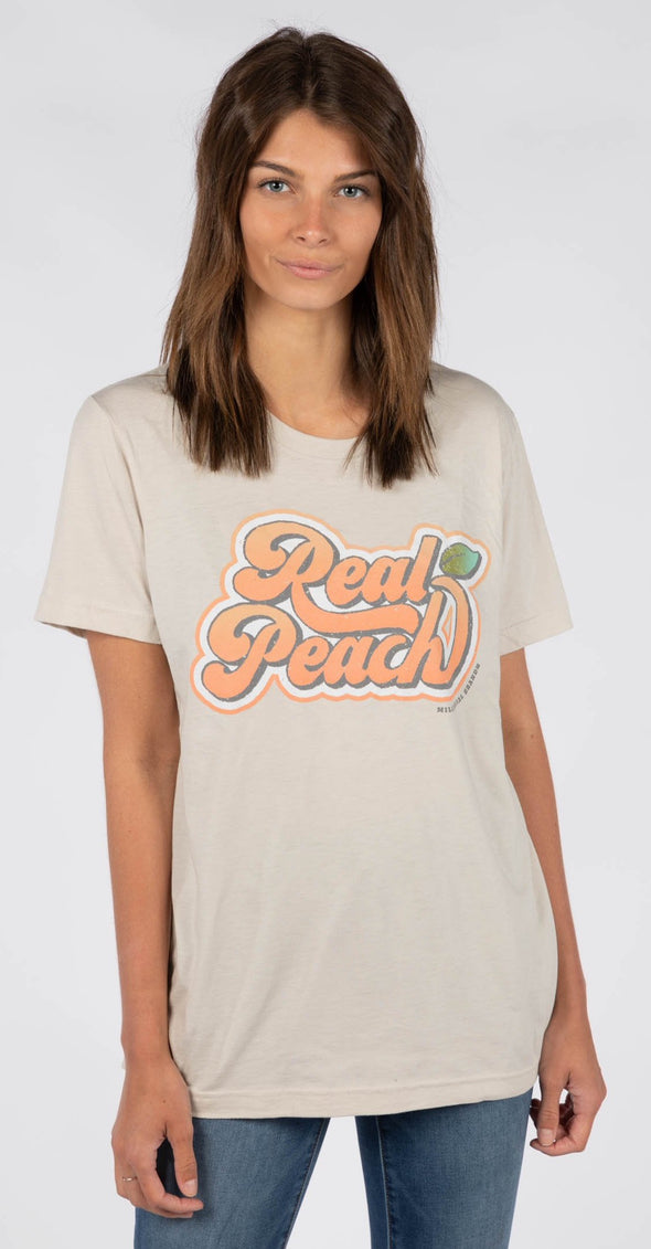 REAL PEACH TEE @outlet