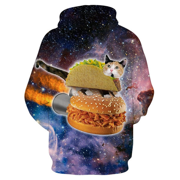 Cats Love Tacos and Burgers
