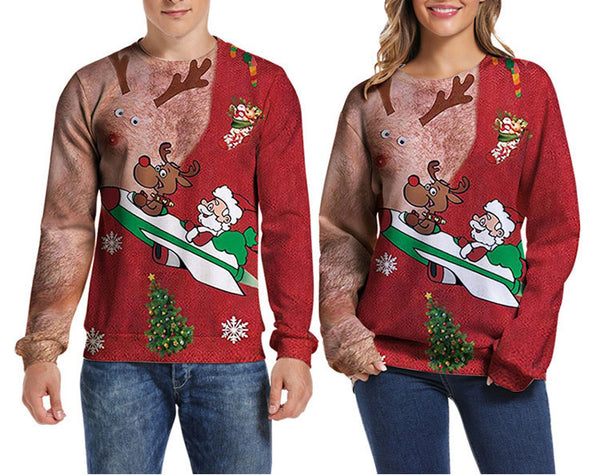 Cute Christmas Couple Shirts