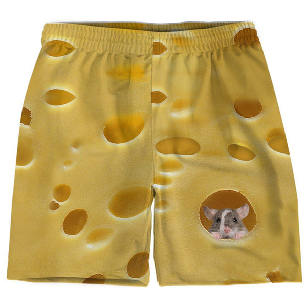Funny Swiss Cheese Shorts