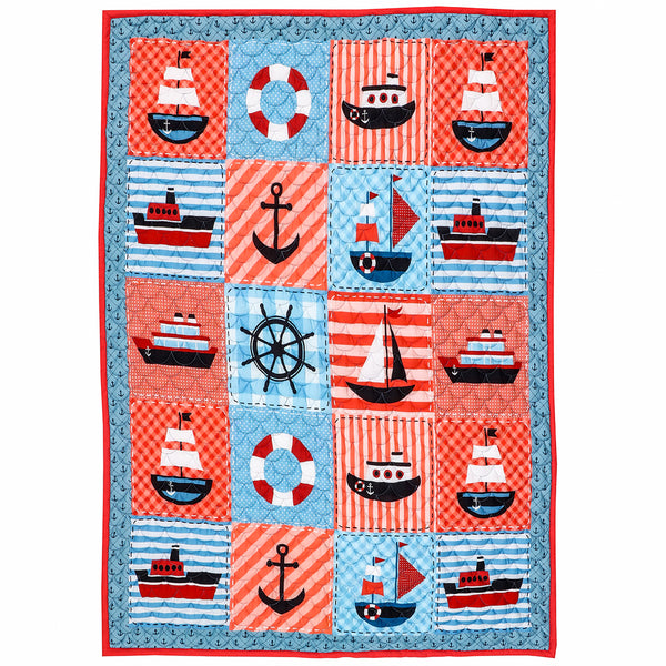 Ahoy Sailor! - Kids Quilt