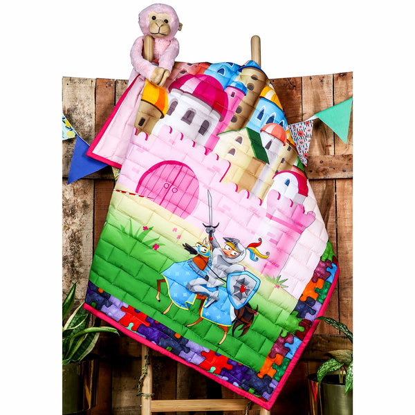 Castles and Knights - Kids Quilt