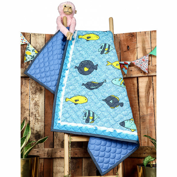 Bubble World - Kids Quilt
