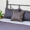 Floral Vine Grey - Bed Cover