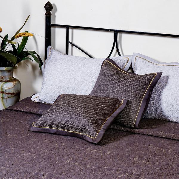 Embroidered Mud - Bed Cover
