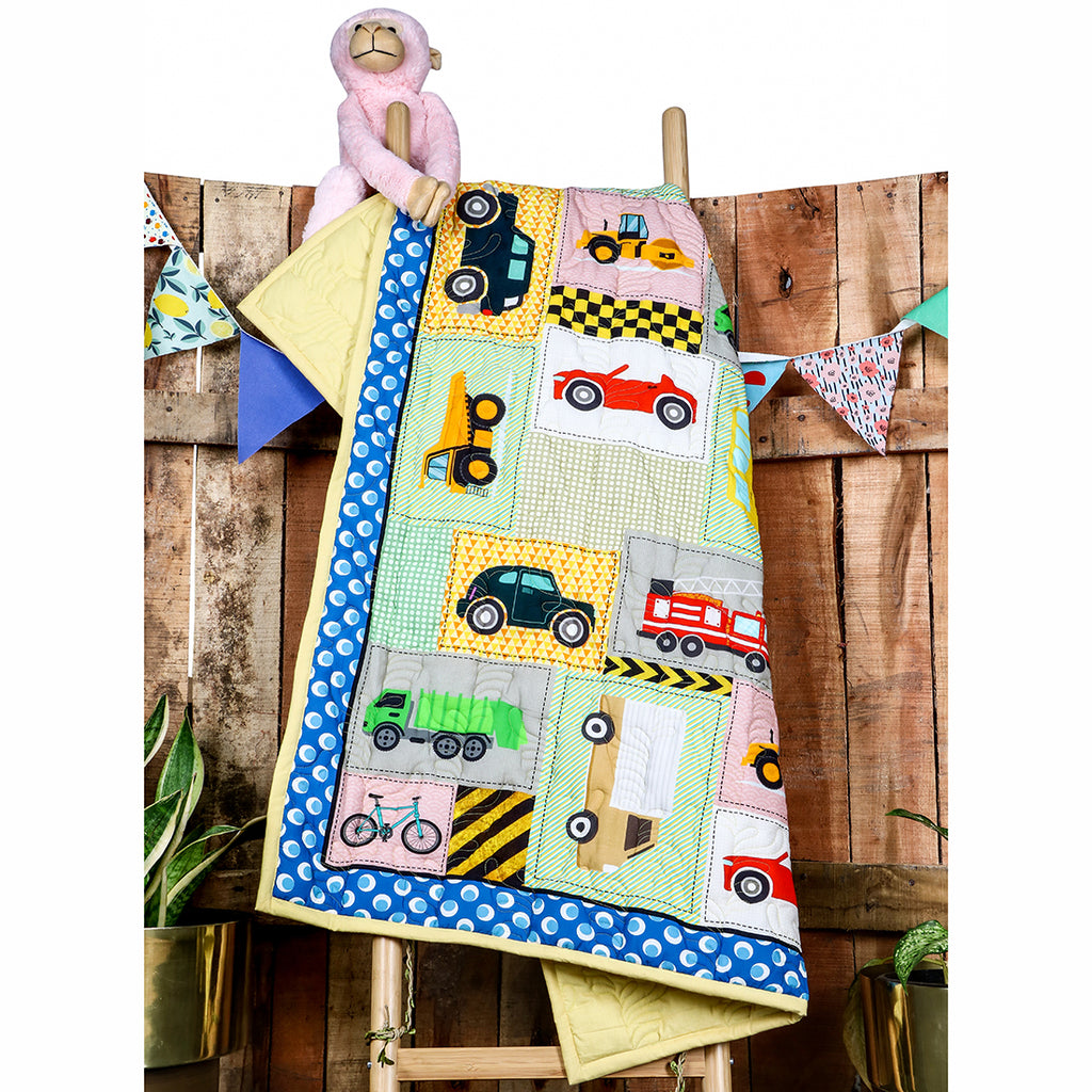 Wheelies - Kids Quilt