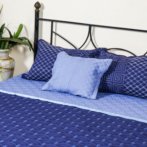 Valencia Blue - Bed Cover
