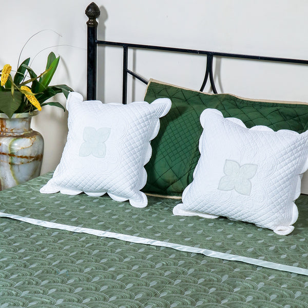 Valencia Green - Bed Cover