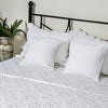 White Bloom - Bed Cover