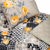 Yellow Roses Patchwork - Quilt