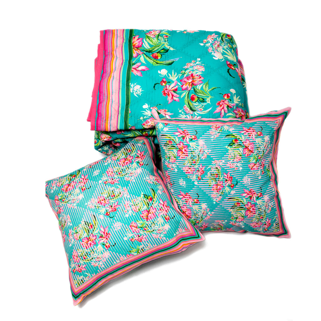 Blooming Garden - Quilt Set