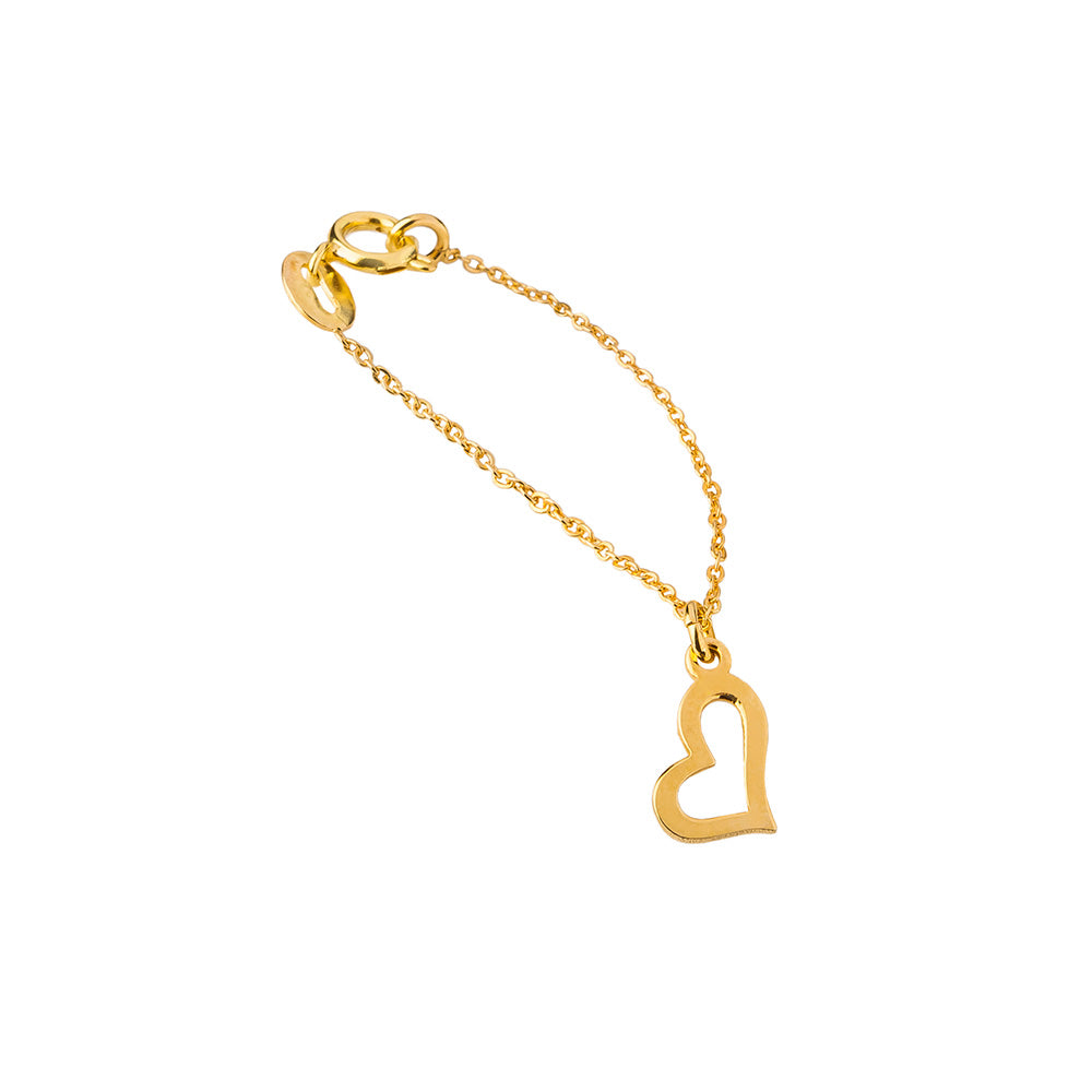 Golden Love Watch Charm
