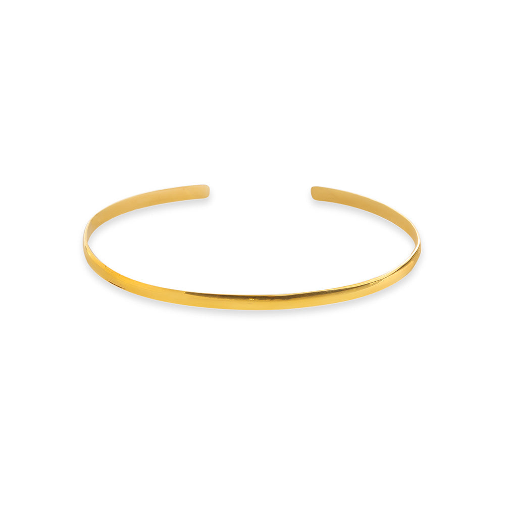 Solid Open Bangle