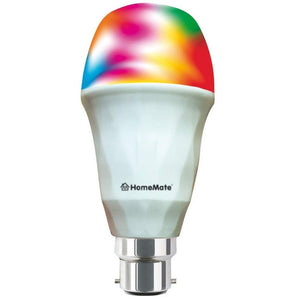 iFi Smart LED Bulb | 9 Watt, B22 Base| 16 Million Colors + Warm and Cool White | Compatible with Alexa and Google Home
