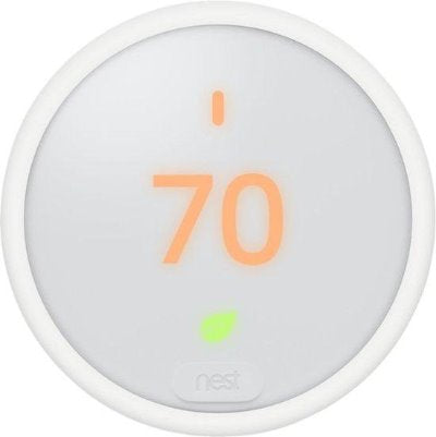 Google - Nest Smart Thermostat E - White colour