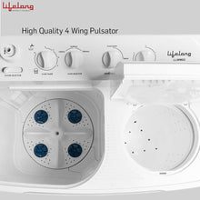 Load image into Gallery viewer, Semi-Automatic Top Loading Washing Machine (LLWM02, White)