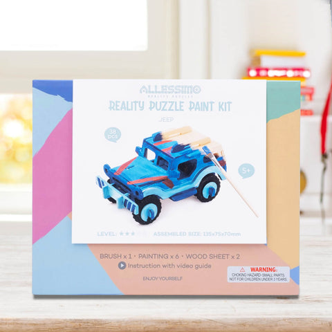 Allessimo Reality Puzzles 3D Painting Puzzles Trail Explorer Stem Toy_2