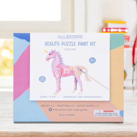 Allessimo Reality Puzzles Unicorn Magic 3D Painting Puzzle_2