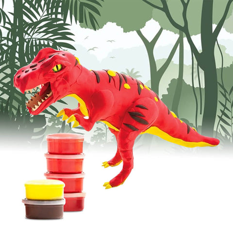 Allessimo Reality Puzzles 3D Clay Jurassic Beast