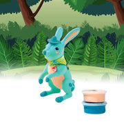 Allessimo Reality Puzzles Burrow Bunny 3D Clay Puzzle