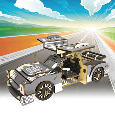 Allessimo Reality Puzzles Super Car 3D Puzzle