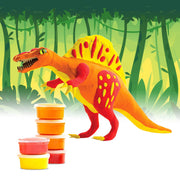 Allessimo Reality Puzzles Spinosaurus Deadly Dino 3D Clay Puzzle