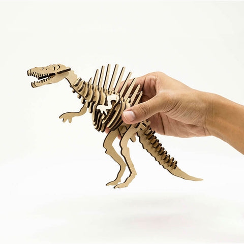 Allessimo Reality Puzzles Spinosaurus Deadly Dino 3D Clay Puzzle_4