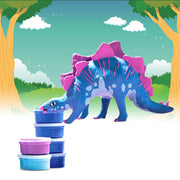 Allessimo Reality Puzzles Spike the Stego 3D Clay Stegosaurs Puzzle