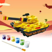Allessimo Reality Puzzles 3D Painting Puzzle Thunder Tank Stem Toy