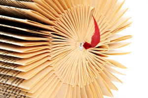 Book Sculpture - Two Fold