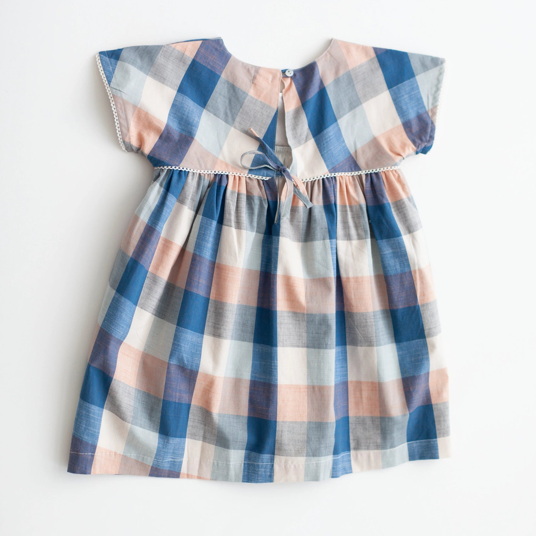 Gooseberry Dress - Blue Chex