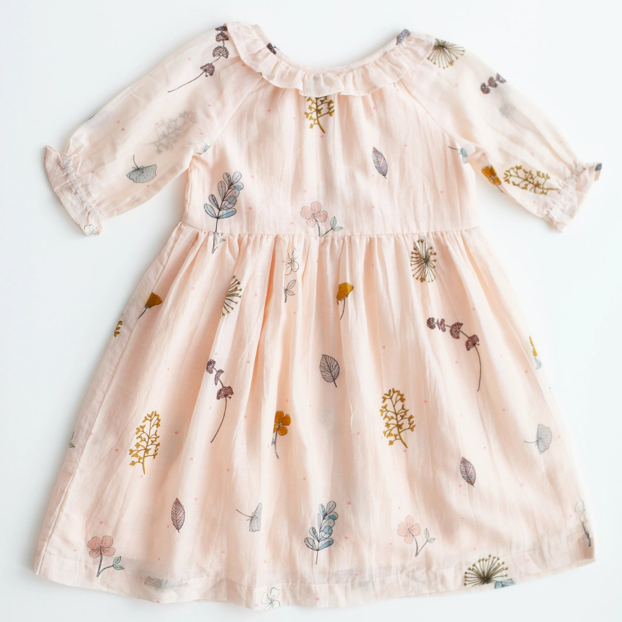 Ivy Dress - Pressed Flowers