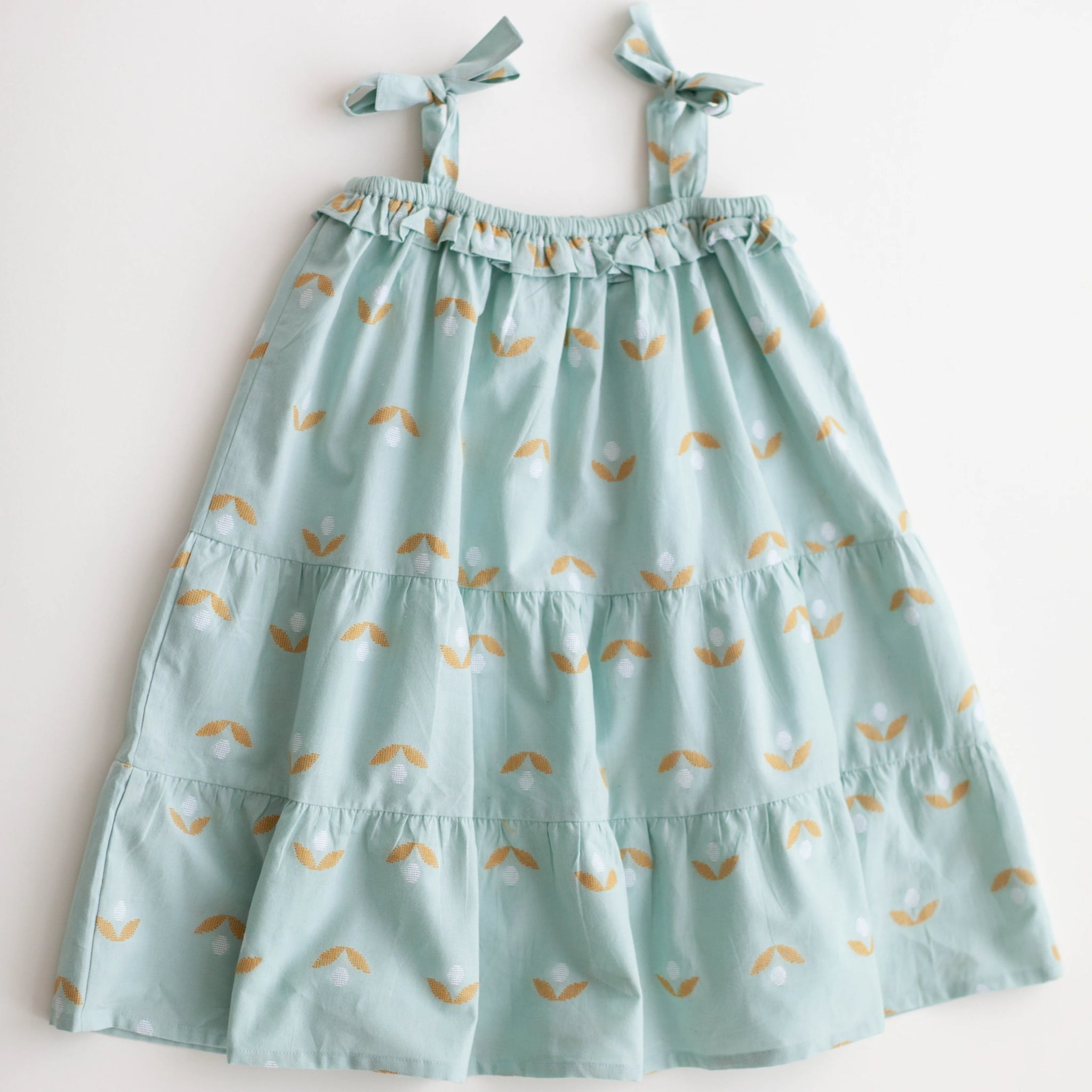 Dahlia Dress - Minty Jambdani