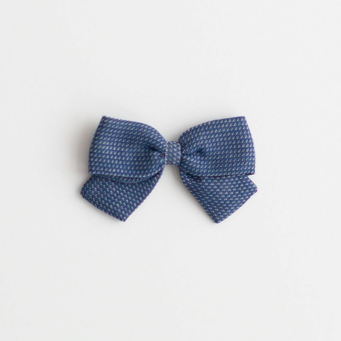 Big Bow, Navy Chex