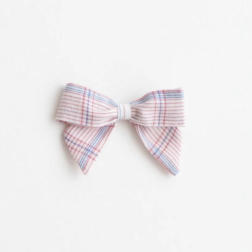 *Online Exclusive* Botany Bow - White Chex