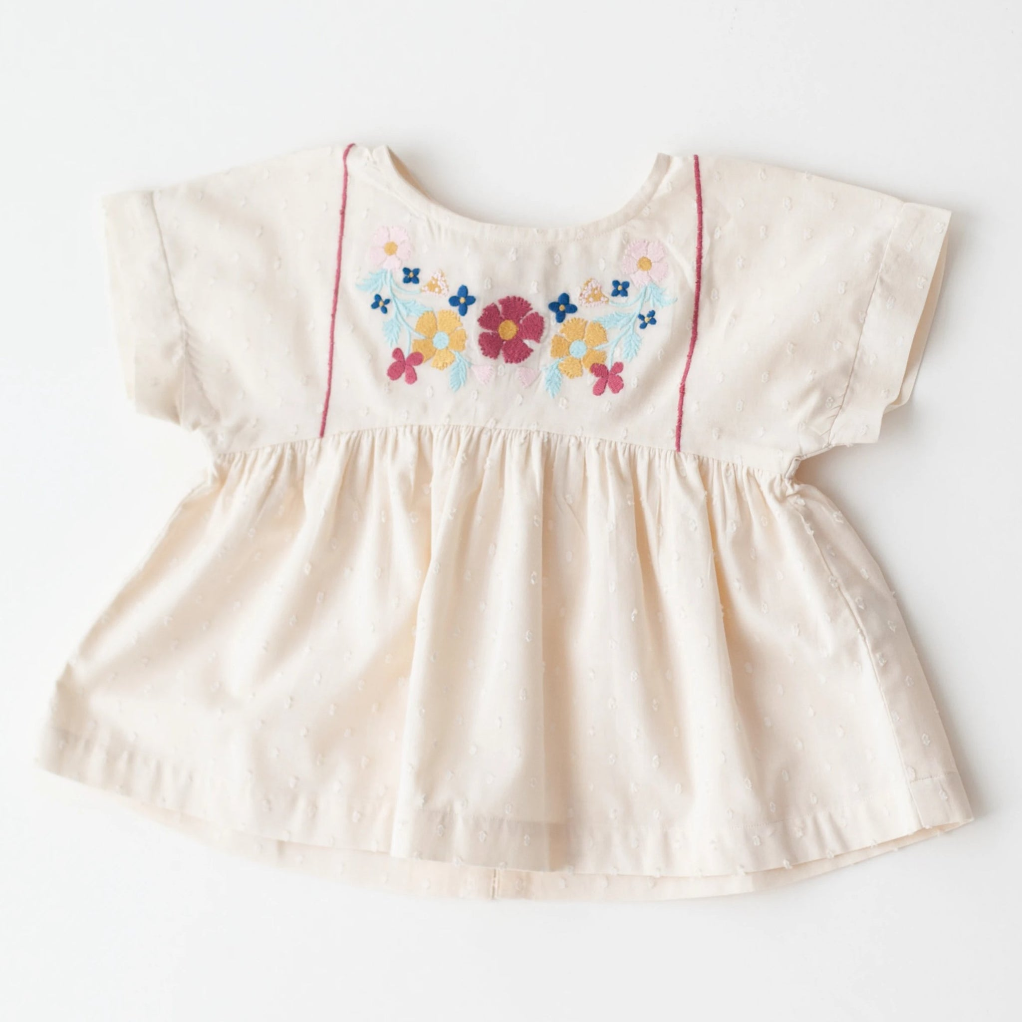 Swing Top - White Embroidery