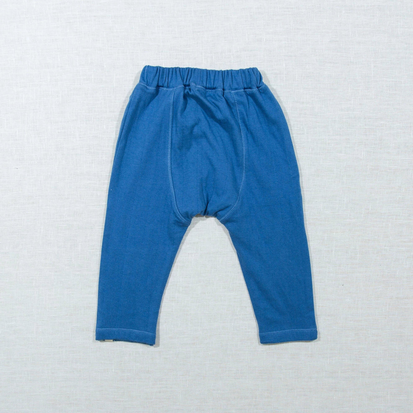 Blue Patchwork Pants