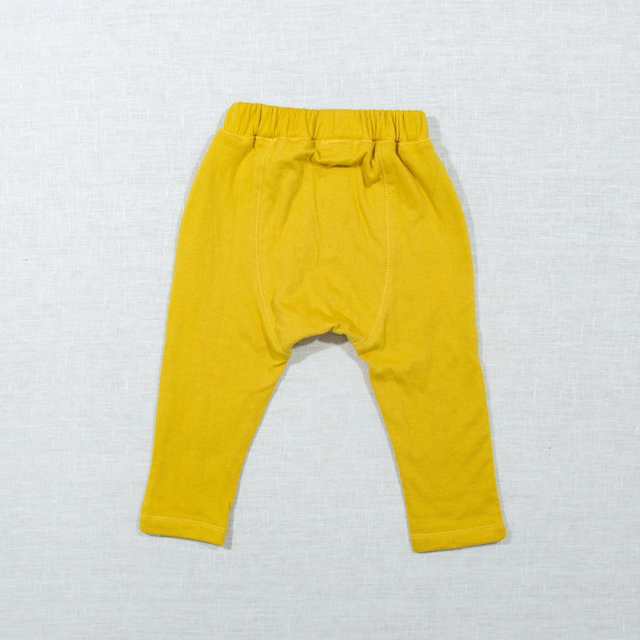 Mustard Patchwork Pants
