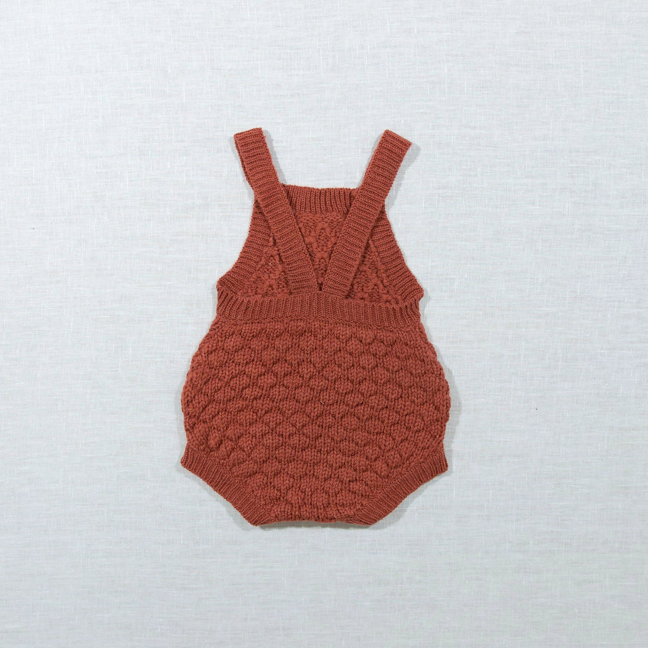 Rust Knitted Onesie